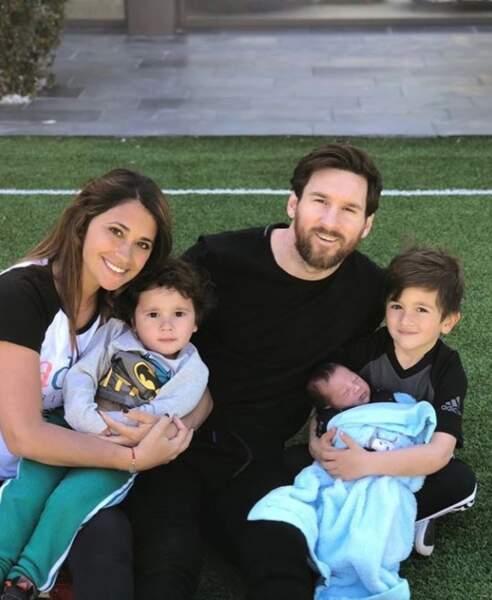 Lionel Messi préfère sa chaleureuse famille