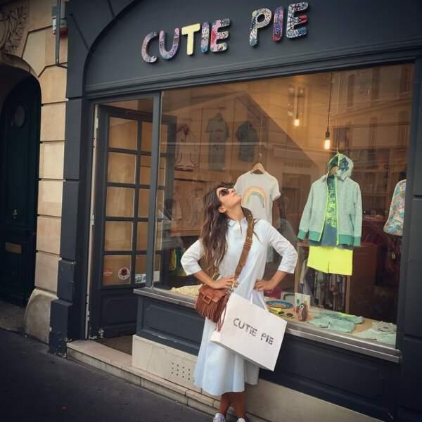 Vraie fille, Géraldine adore le shopping !