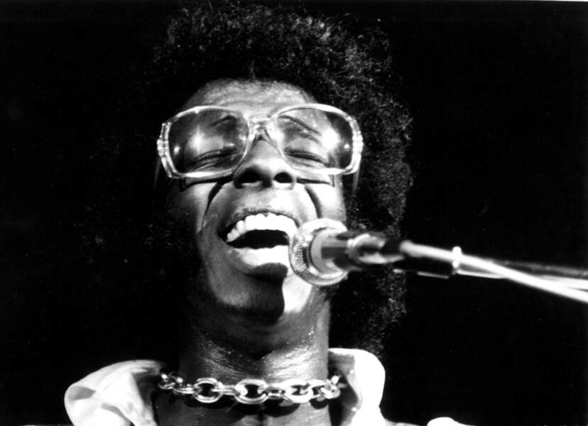 Sly Stone du groupe Sly and the Family Stone...