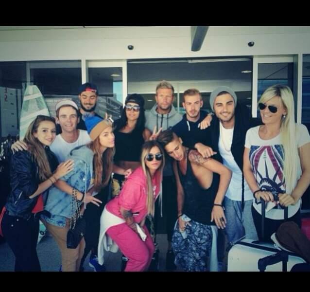 Photo de groupe à l'aéroport de Roissy !