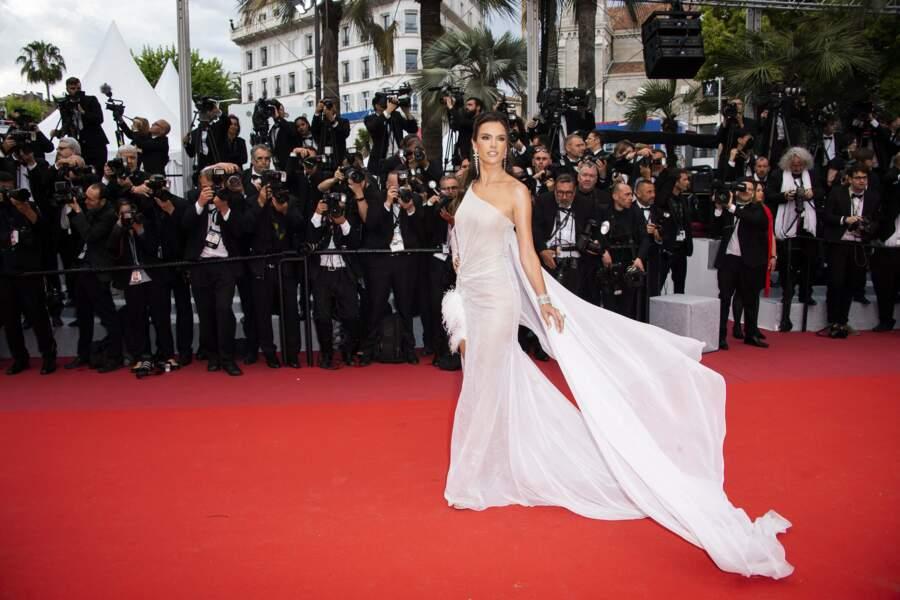 Le top model Alessandra Ambrosio