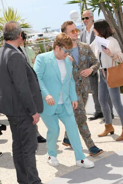 C'est le moment que tout le monde attendait : l'arrivée de Sir Elton John !