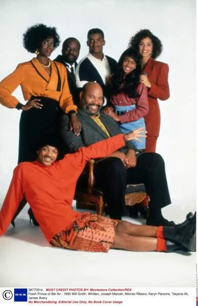 La sitcom Le Prince de Bel-Air est diffusée dès le 10 septembre 1990. Voici le casting à l'époque !