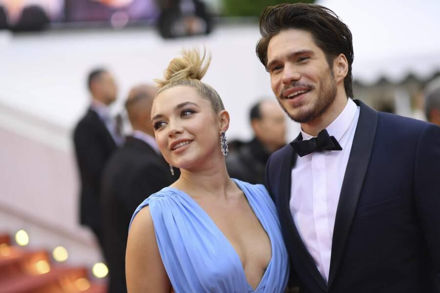 L'actrice Florence Pugh et l'acteur François Civil