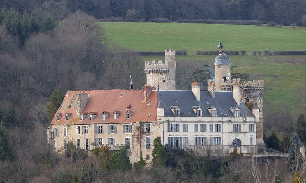 Le château de Veauce, Auvergne
