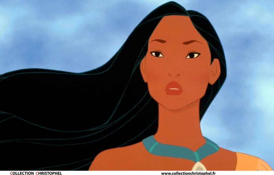 Pocahontas : Héroïne d'un film d'animation en 1995, elle a aussi été incarnée par Mizuo Peck dans La nuit au musée