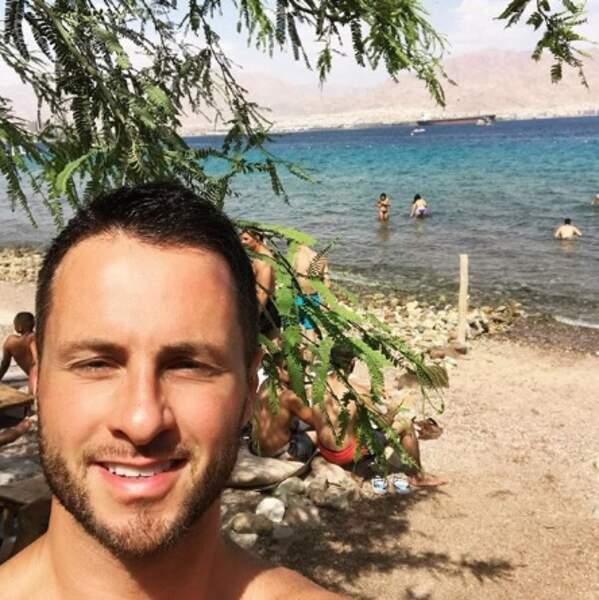 Christian Millette à Eilat.