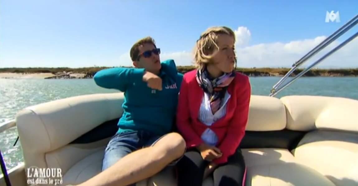 Adrien et Claire, eux, roucoulent au Portugal