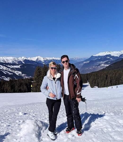 Et Nicky Hilton et son mari James profitait de la poudreuse française dans les Alpes.