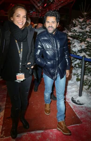 Et il est venu accompagné de sa compagne, Melissa Theuriau