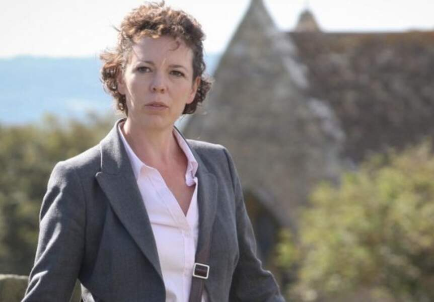 Olivia Coleman joue Ellie Miller, la flic impliquée dans l'affaire plus qu'elle ne le pense