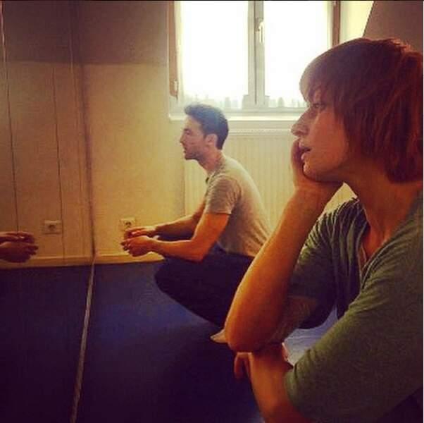 Maxime Dereymez et Fauve Hautot sont particulièrement concentrés...