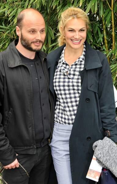 Helena Noguerra et son fiancé