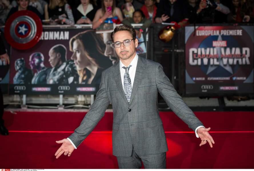 8. Robert Downey Jr. avec 33 millions de $