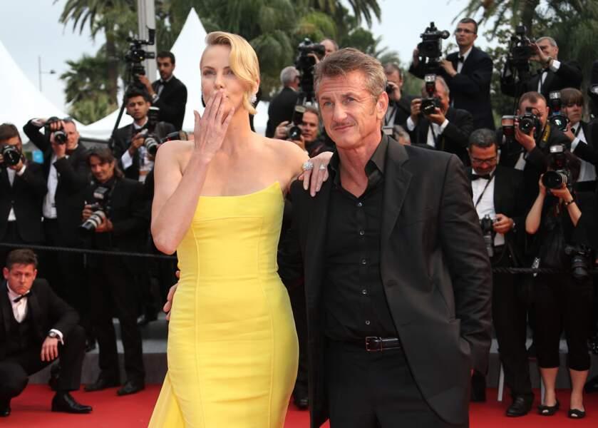 Quel couple glamour....
