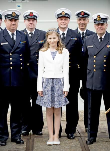 Belgique : Elisabeth, 14 ans, est très à l'aise avec ses obligations de future souveraine
