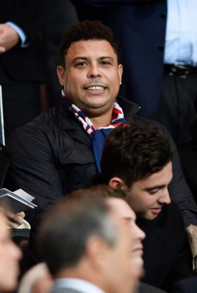 La légende du football brésilien, Ronaldo, aime le beau jeu...
