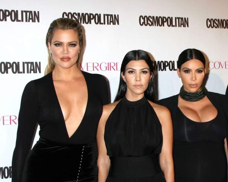 On ne les présente plus : les businesswomen et it-girls Khloé, Kourtney et Kim Kardashian.