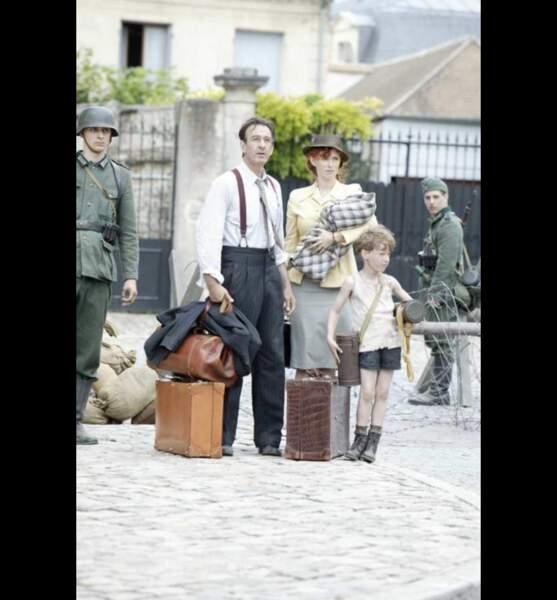 Un Village français (Série - depuis 2008) : avec Robin Renucci