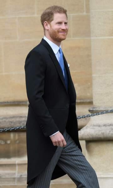 Le prince Harry a assisté au royal wedding sans son épouse Meghan Markle