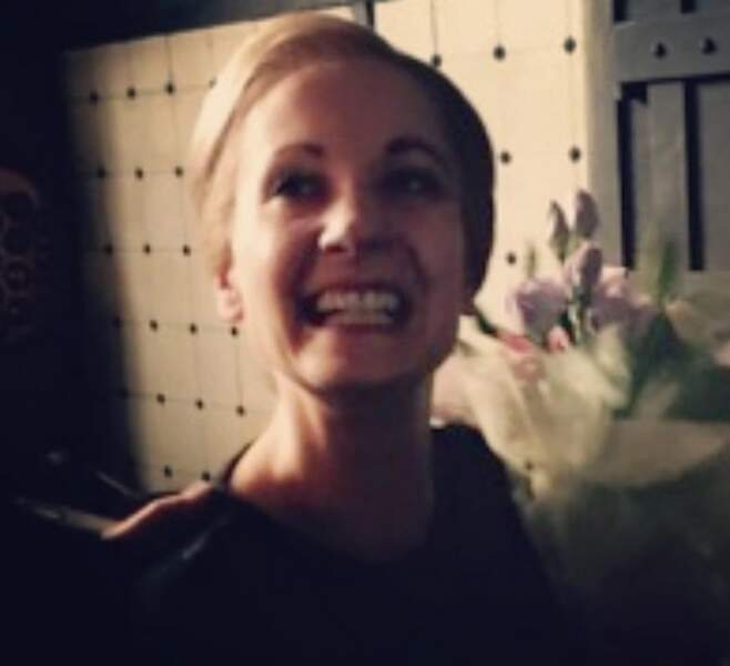 Malgré la fin de Downton Abbey, Joanne Froggatt garde le sourire...
