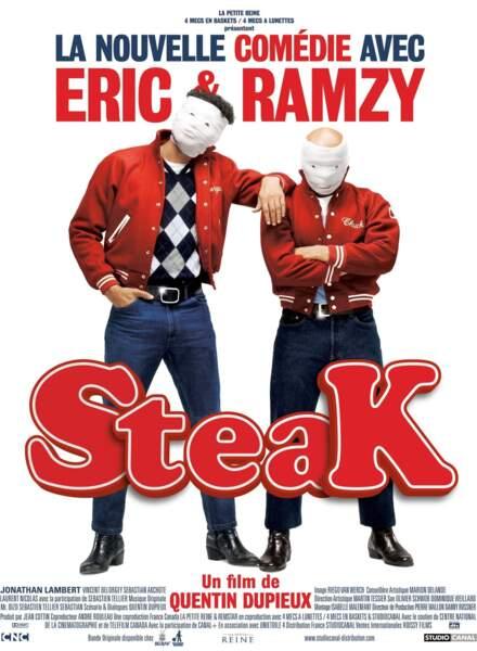 Eric et Ramzy en roue libre (Steak)