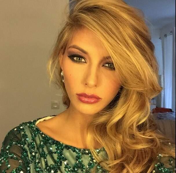 Voici le futur maquillage de Camille Cerf, Miss France 2015, pour Miss Univers !