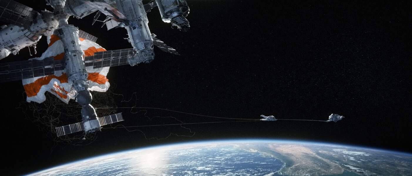 Véritable tour de force technique, sensoriel, émotionnel, Gravity est LE film de l'année 2013