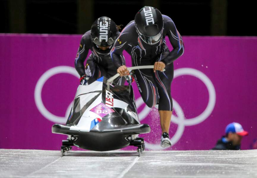 ... et a été vice-championne aux JO de Sotchi en 2014 au bobsleigh à deux féminin