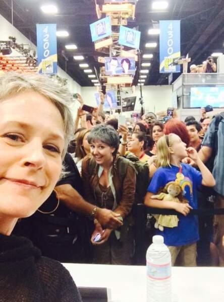 La foule bigarrée et passionnée du Comic-Con !