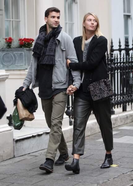 Entre 2012 et juillet 2015, Grigor Dimitrov et Maria Sharapova formaient le couple le plus glamour du circuit