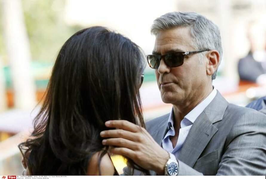 """Dans quelques heures, George et Amal vont se dire """"Yes"""" !"""