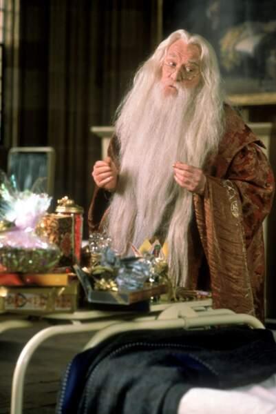 Le professeur Dumbledore, incarné par Richard Harris