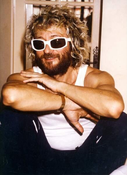 En 1987, il ose la barbe