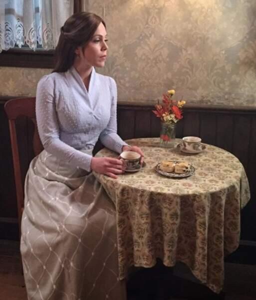Erin Krakow est l'héroïne depuis 2014 de la série américaine Le Cœur a ses raisons
