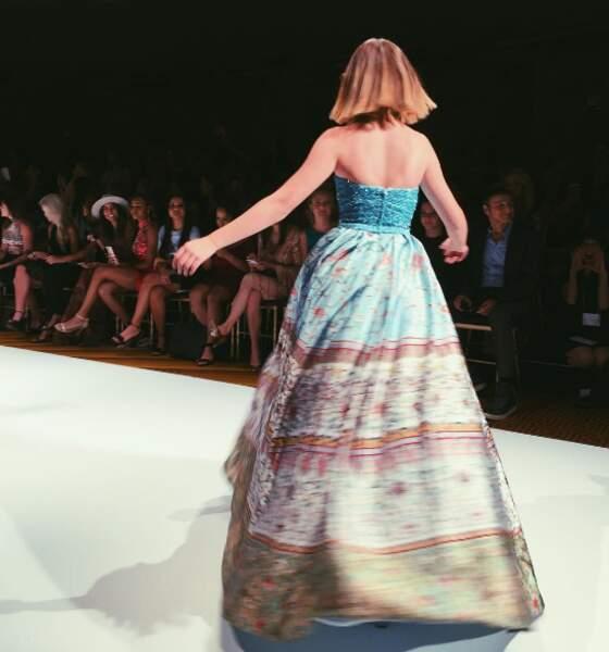 Natasha Bure a été notamment remarquée à la Fashion Week de New York