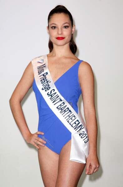Caroline Clequin, Miss Prestige Saint-Barthélémy 2013
