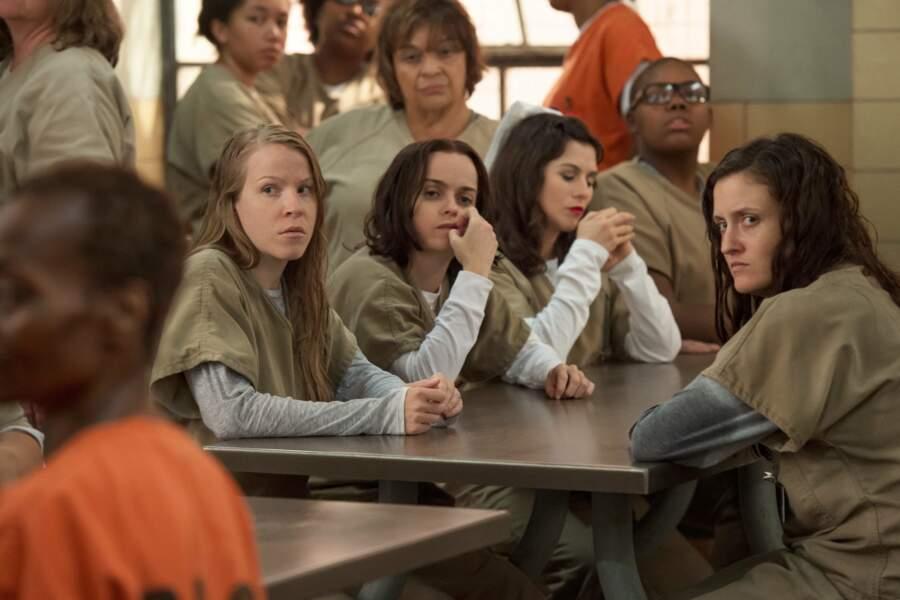 Angie Rice (à droite) fait partie des droguées de la prison