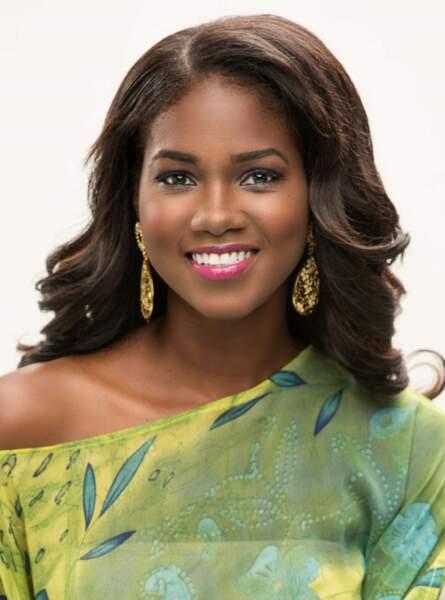Miss Jamaïque : Kadijah Robinson