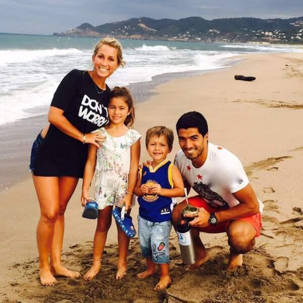 Vacances en famille pour Luis Suarez