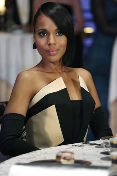 Lyn Paolo, la chef costumière de la série, a la lourde tâche de choisir les tenues que portera Kerry Washington