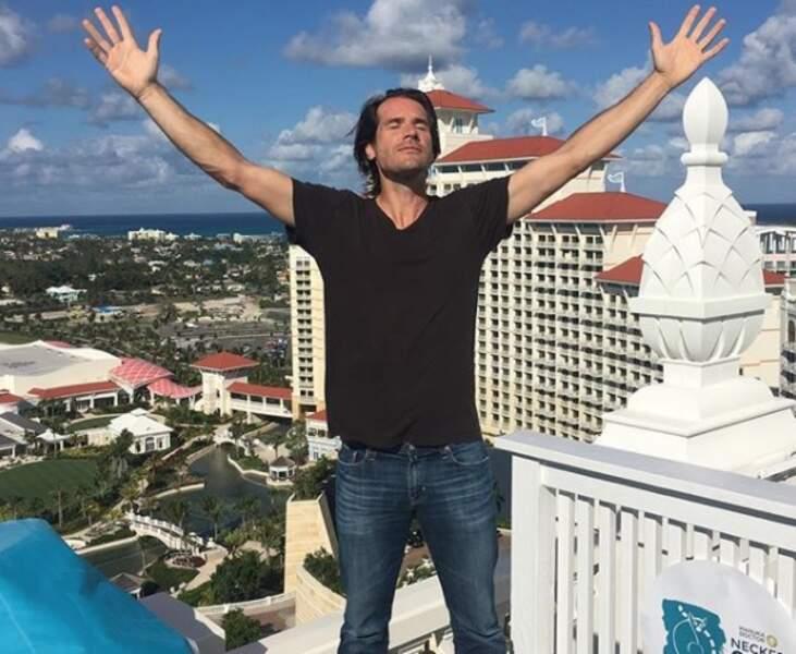 Tout juste retraité, Tommy Haas s'amuse aux Bahamas