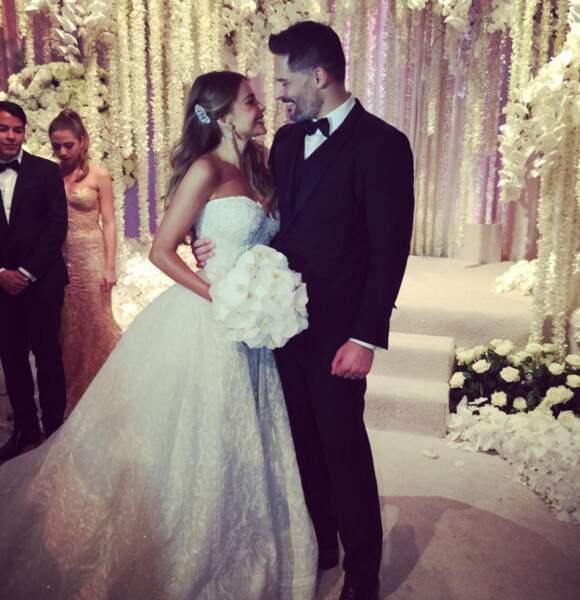 L'acteur Joe Manganiello et elle se sont mariés ce week-end.