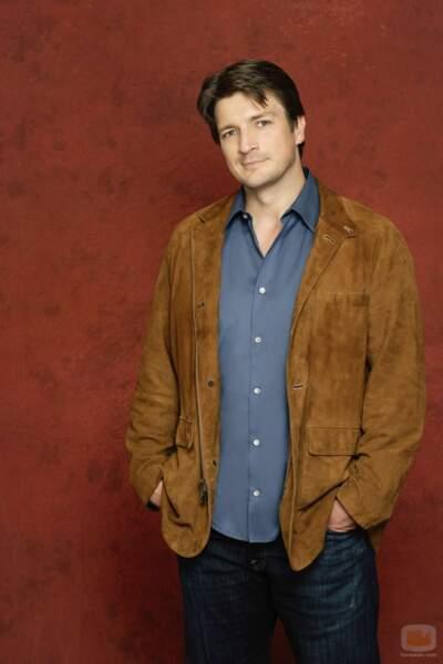 Nathan Fillion incarnait le héros de la série, Richard Castle