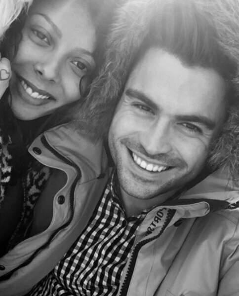 Les candidats de télé-réalité Nehuda et Ricardo Pinto, en couple depuis cette année.