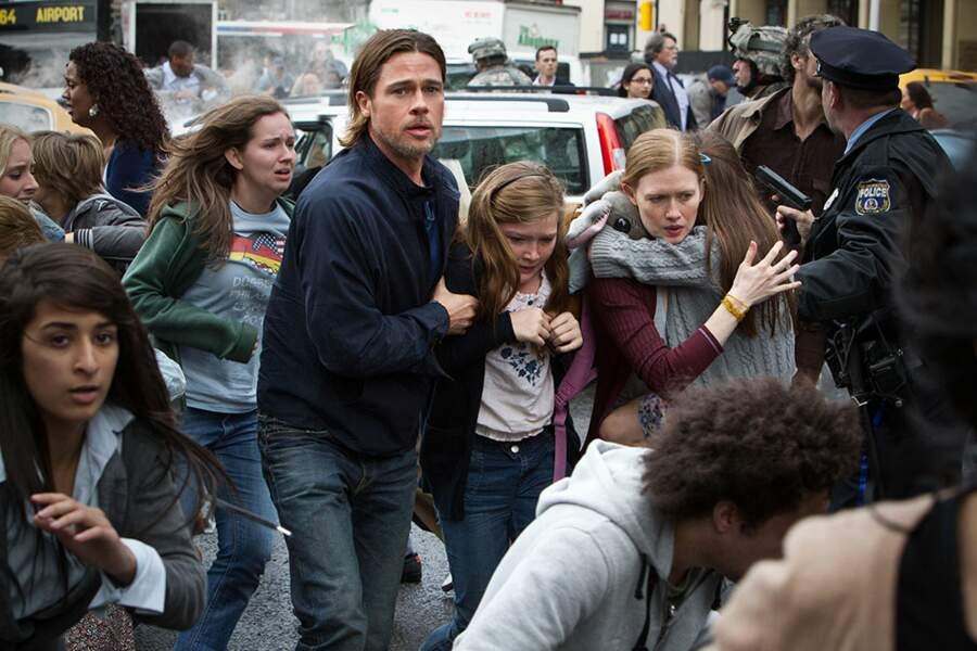 Vous étiez 2,44 millions à vouloir découvrir Brad Pitt en sauveur de l'humanité (ça change de Bruce Willis)
