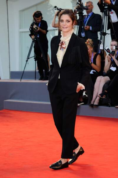 L'actrice française Chiara Mastroianni, membre du Jury de cette 73ème édition