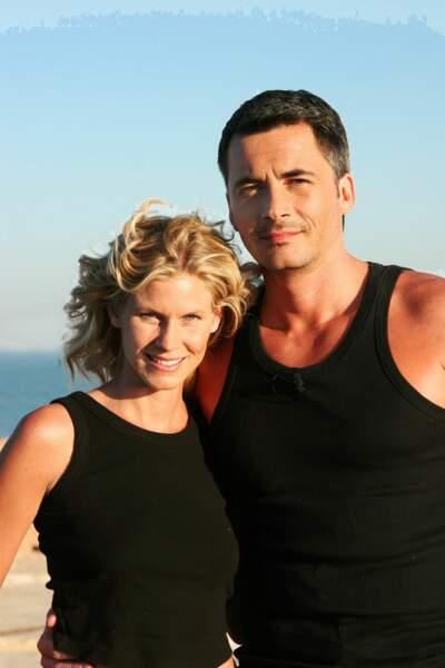 De 2003 à 2005, il est accompagné de la comédienne Sarah Lelouch