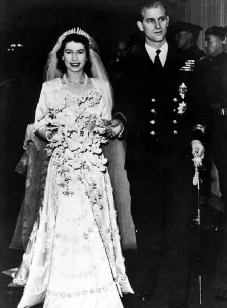 Le 20 novembre 1947, les deux amoureux se marient à Westminster