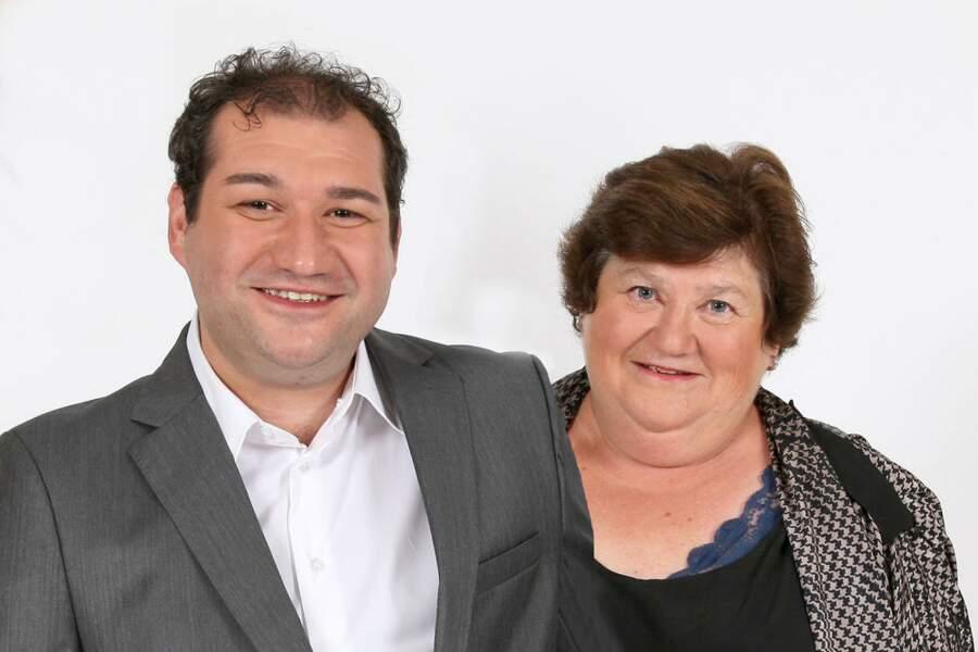 Fred et Chantal qui à coup sûr vont animer cette saison 2 de Qui veut épouser mon fils ?